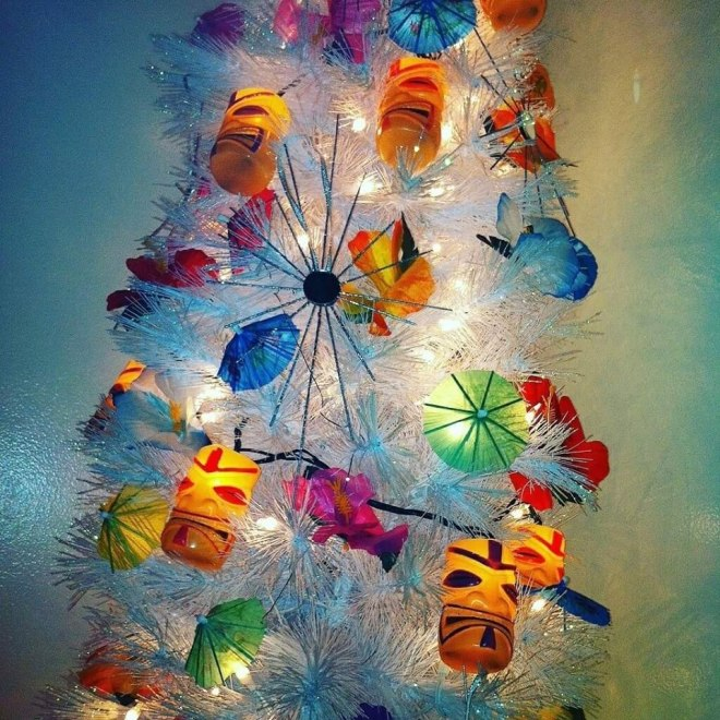 Tiki Christmas Tree