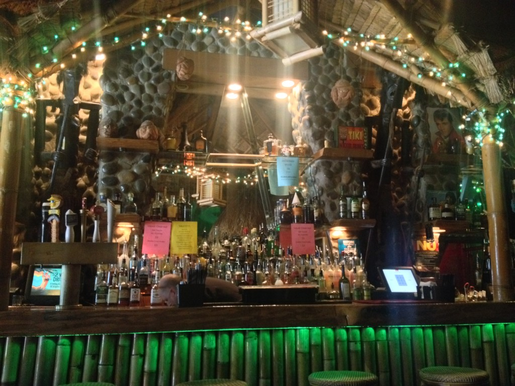The Bar at The Tiki Lounge