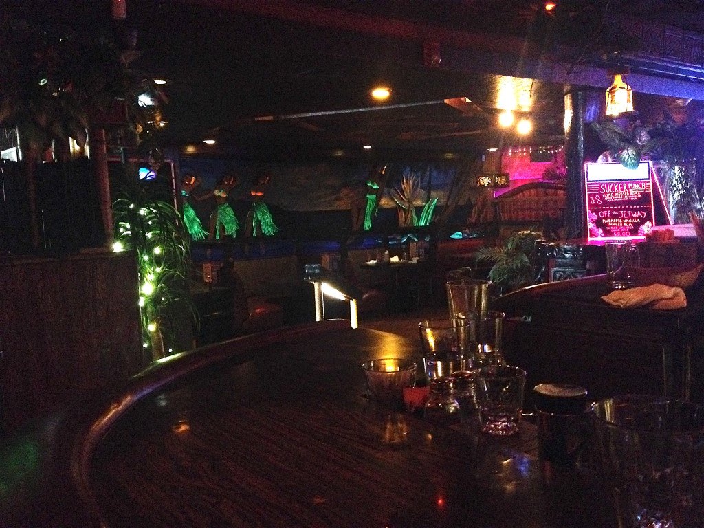 View from the bar at The Alibi