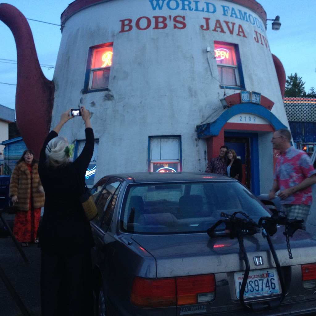 Taking pictures of Bobs Java Jive