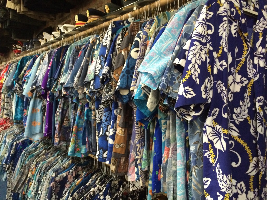 Aloha Shirts at Slushers Coin Shop Pic 1