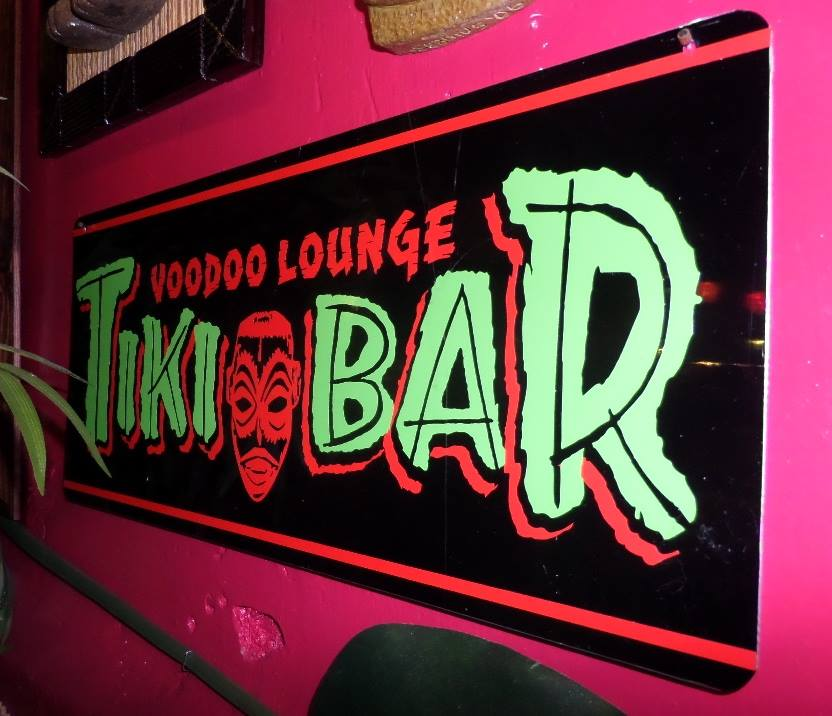 Voodoo Lounge Sign