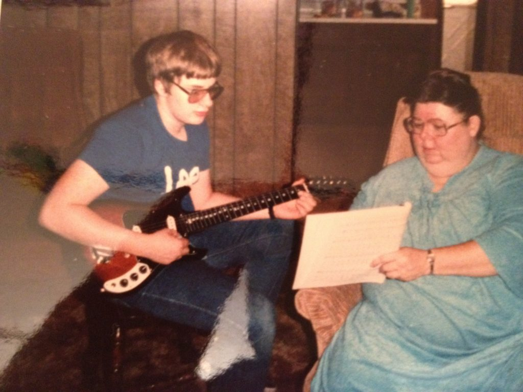 Ray playing guitar 13 years old
