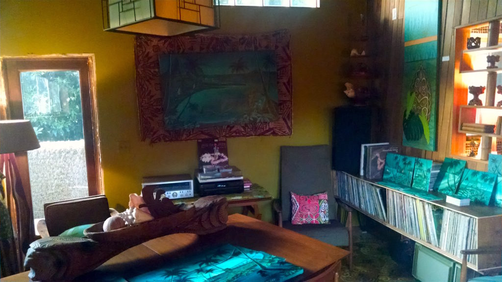 Sophista-Tiki Dawn Frasier record collection and new art