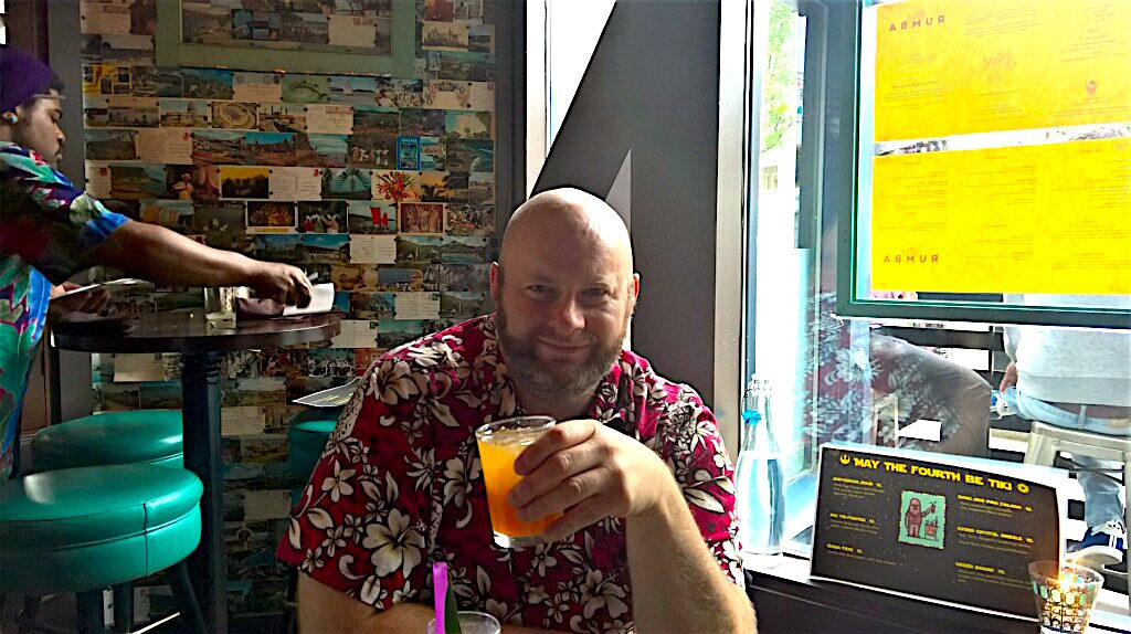 Ray with a Philadelphia Fish House Punch