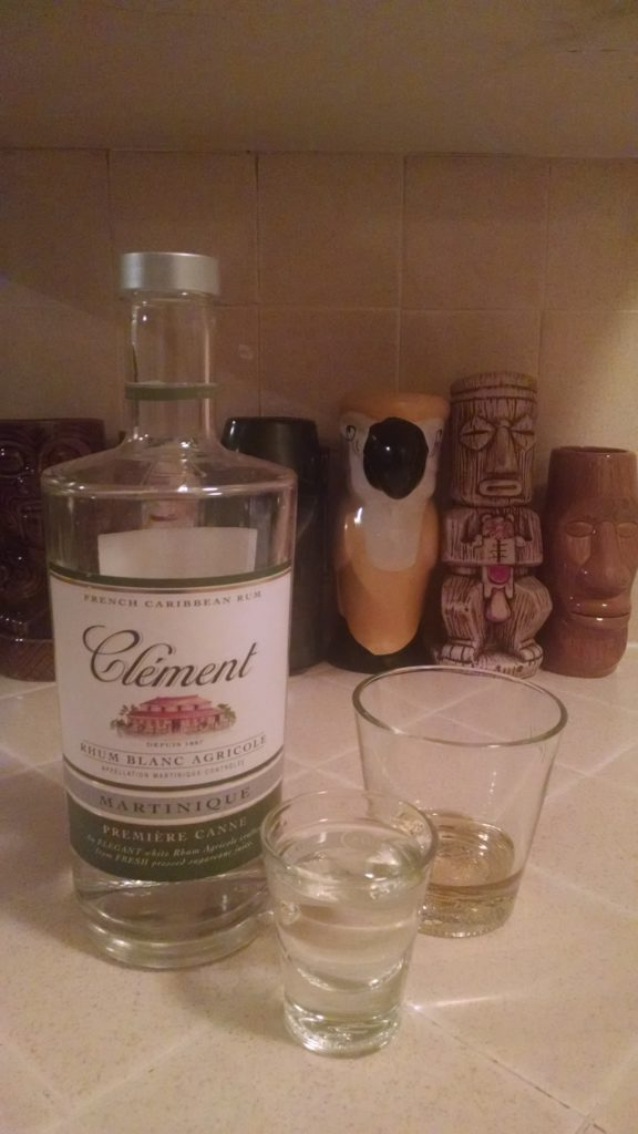 Ti' Punch - Clement Rhum Blanc Agricole