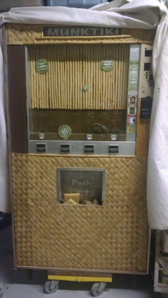Tiki mug vending machine