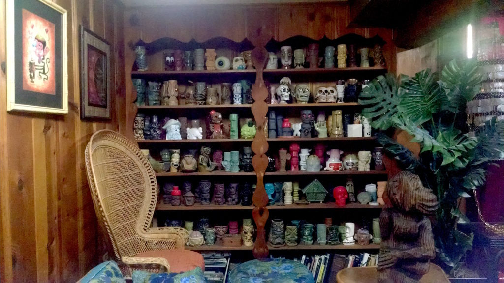 Munktiki TIki mug collection