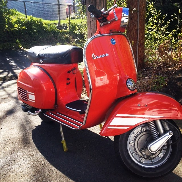 My 1973 Vespa Rally 200