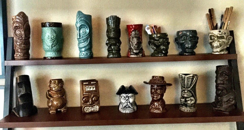 Cave Of The Kungaloosh Tiki mugs