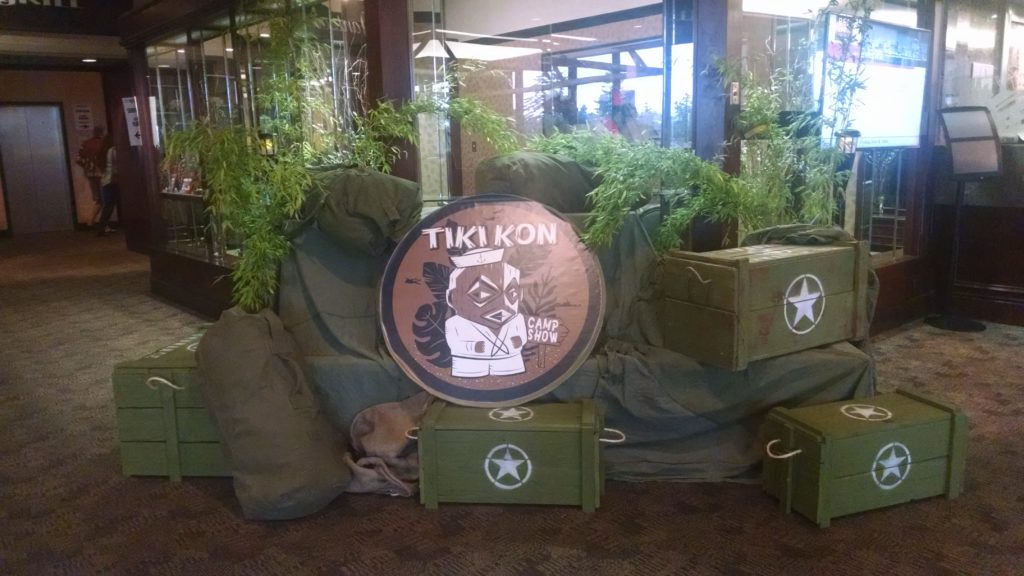 Tiki Kon 2016 display
