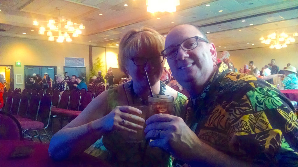 Helen and Rich at Tiki Kon 2016