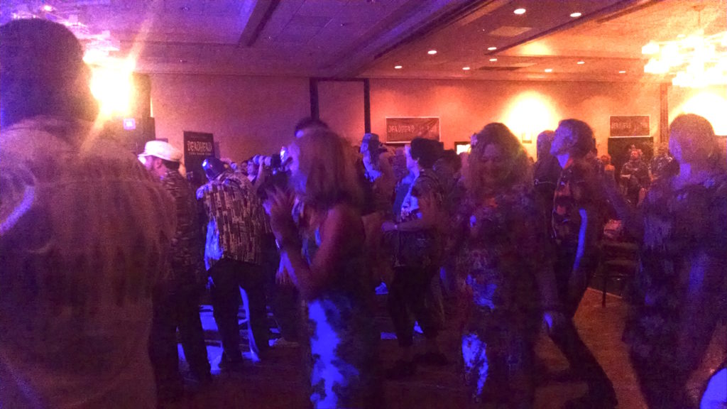 Friday night's crowd at TIki Kon 2016