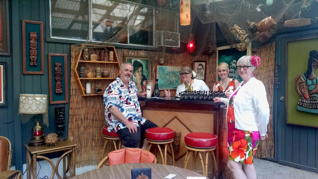 The Lowbrow Lanai bar