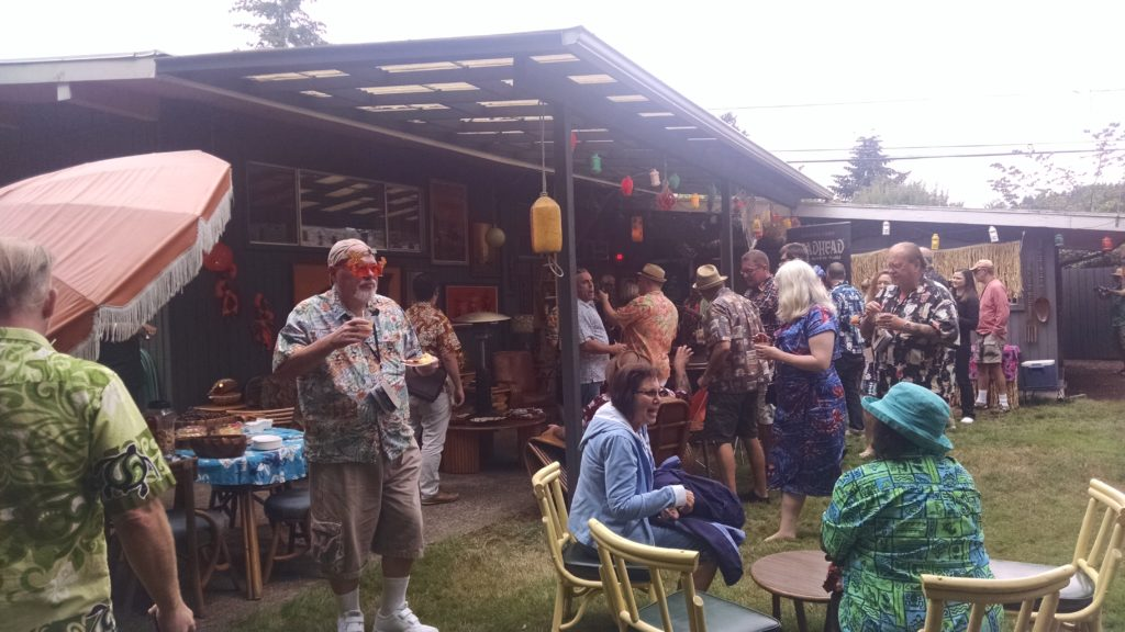 The Home Tiki Bar Tour at The Lowbrow Lanai