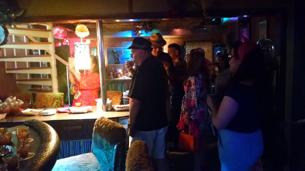 The Green Bamboo Lounge on The Home Tiki Bar Tour
