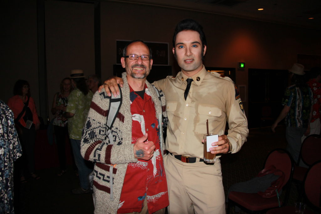 Dieter and Elvis at Tiki Kon 2016