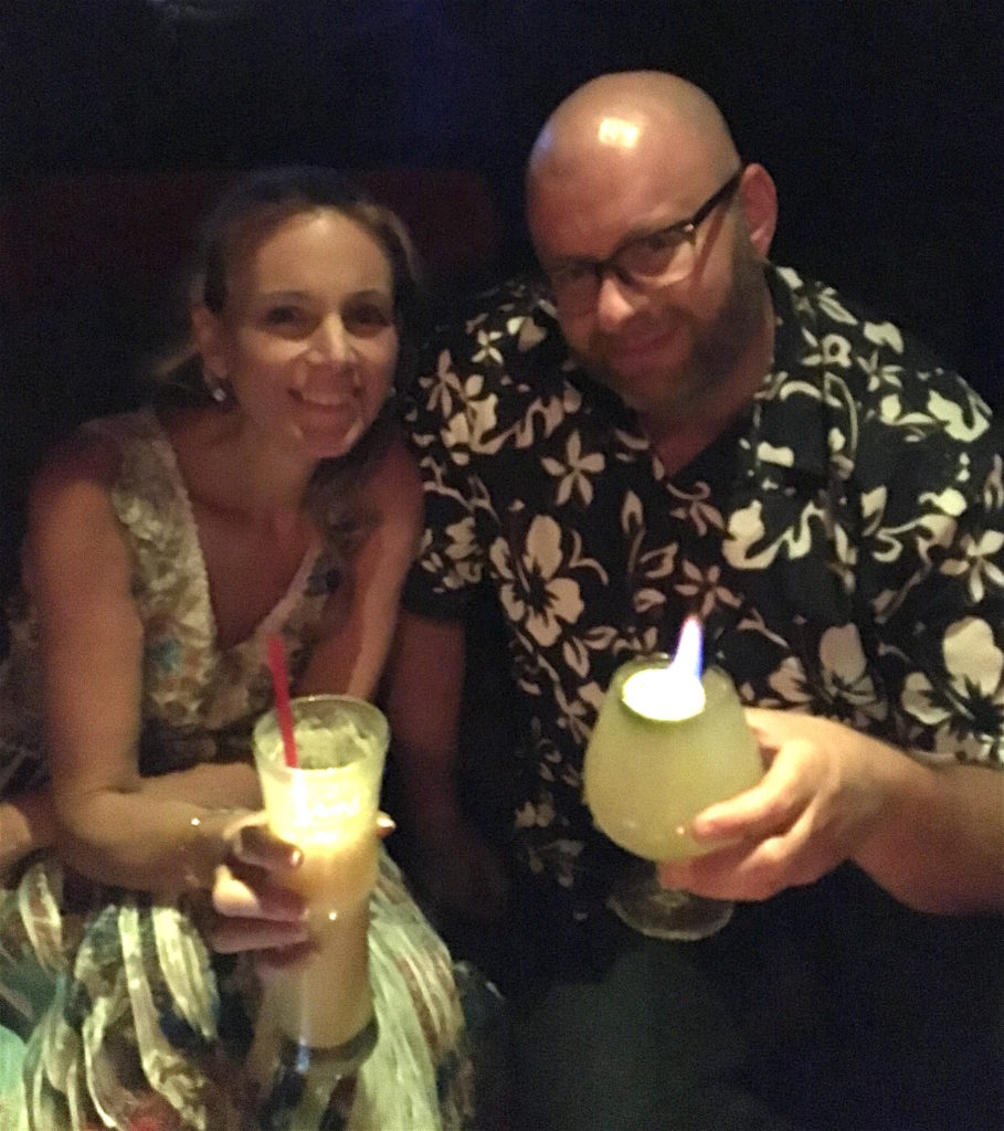 Tonia and Ray at The Golden Tiki