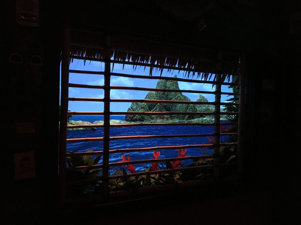 Volcano calm at Trader Sam's