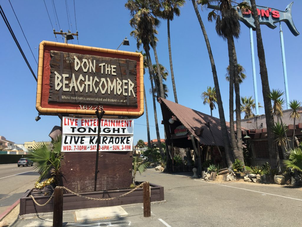 Outside Don The Beachcomber