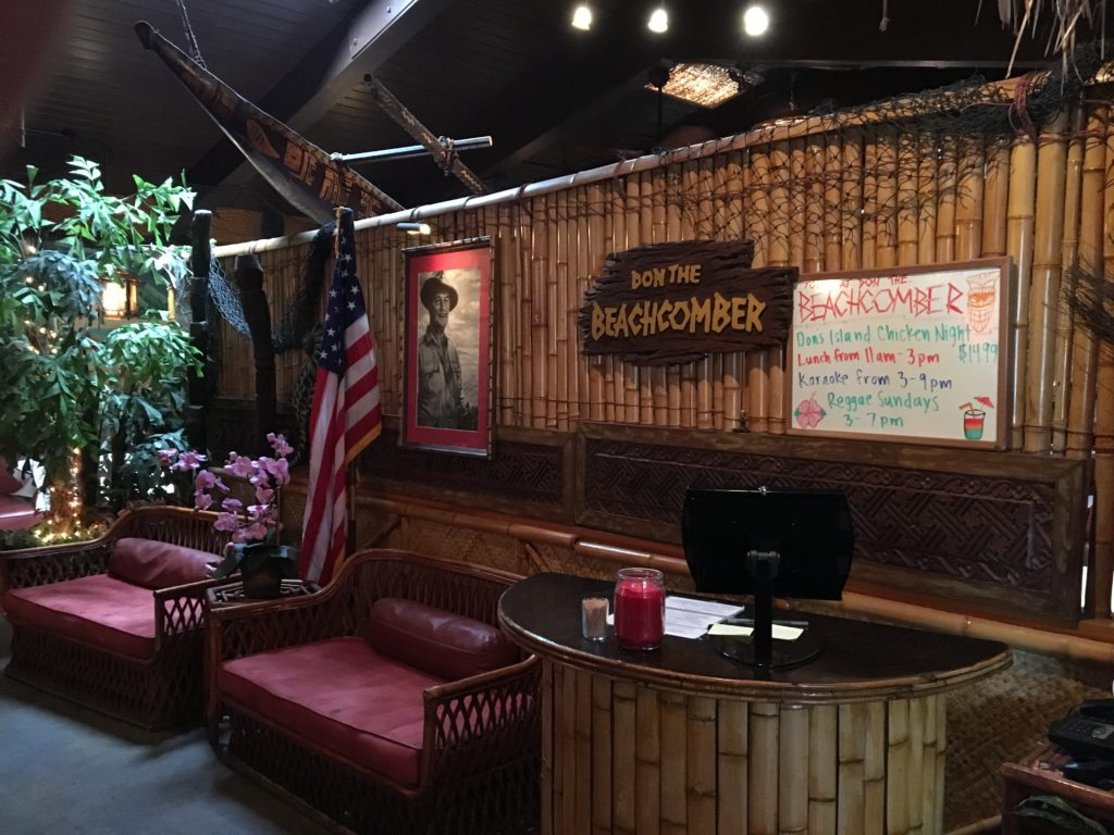 Front lobby of Don The Beachcomber