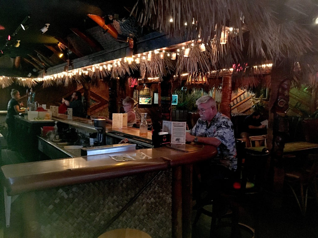 The bar at Don The Beachcomber
