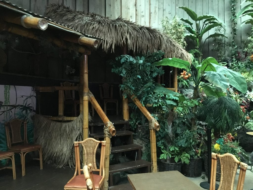 Don The Beachcomber back room Tiki hut