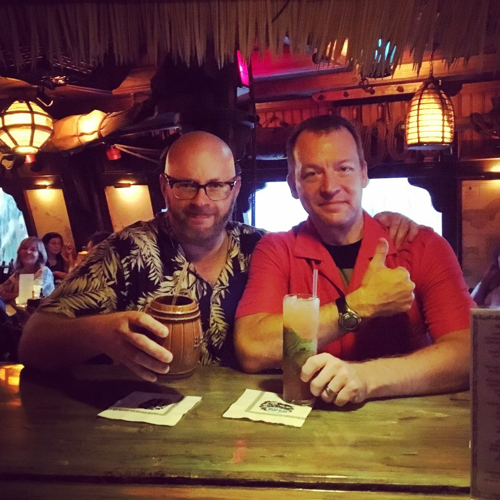 Ray and Dave at The Mai Kai