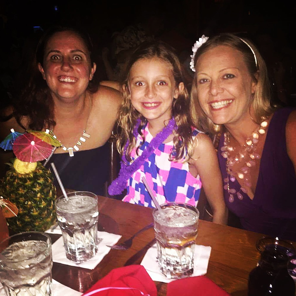Rory celebrating her 9th birthday at The Mai Kai