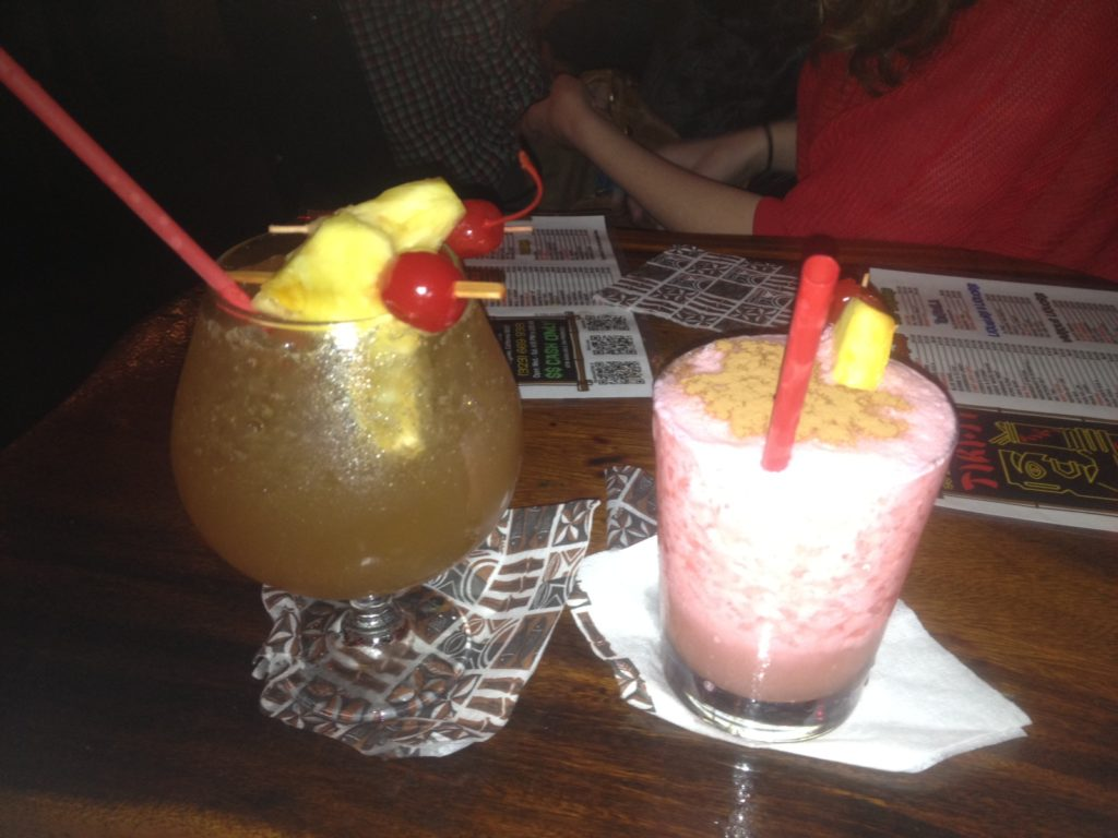 Tiki Ti drinks