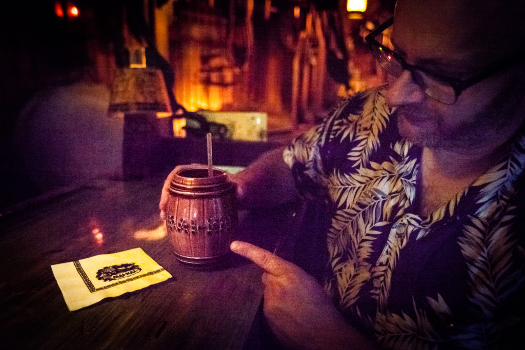 Rum Barrell at The Mai Kai