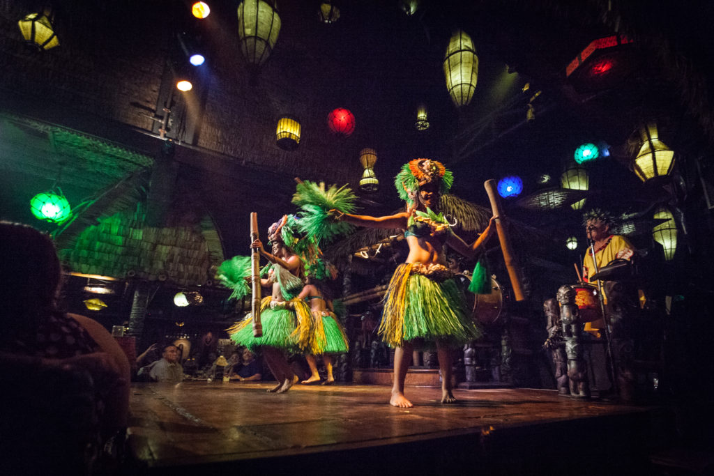 Polynesian Islander Revue at The Mai Kai