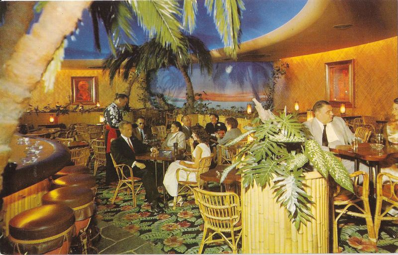 The Polynesian Room back in the day.