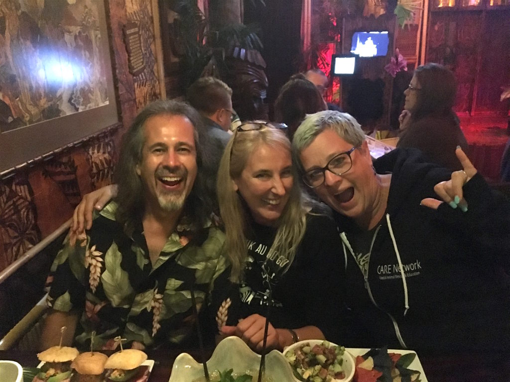 Brian Bernie and Monica at The Shameful Tiki Room