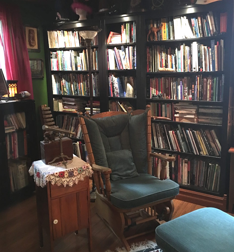The English Library at The Fuzzy Smudge