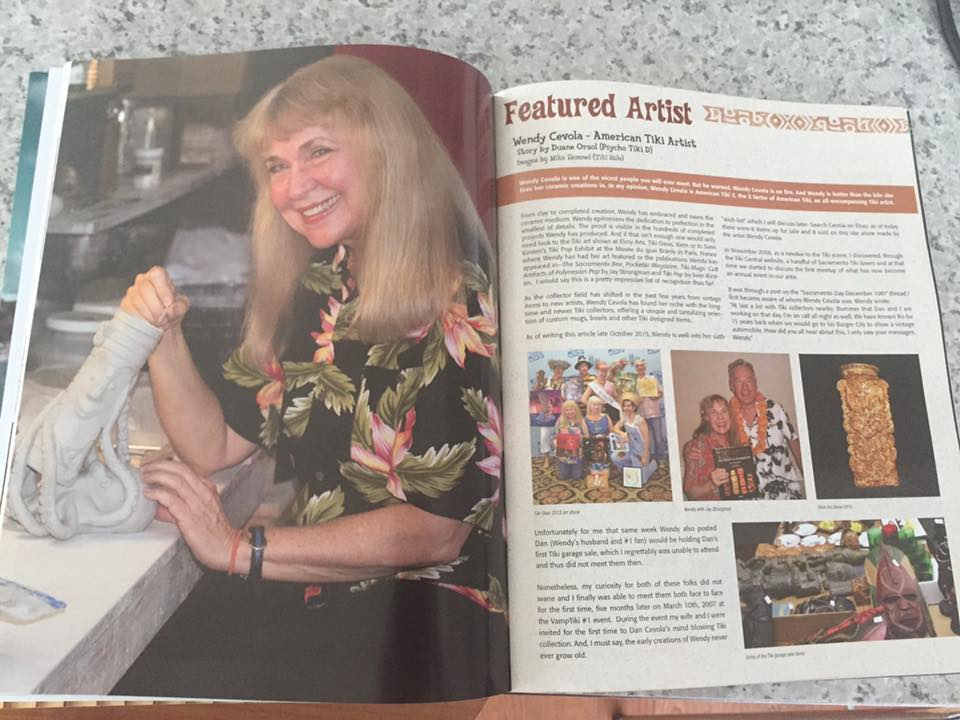 Wendy's write up in Tiki Magazine and More