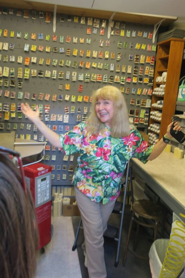 Wendy Cevola in her shop