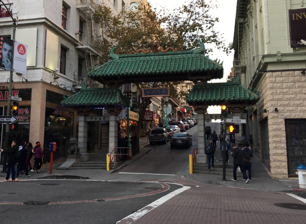 Entrance into Chinatown