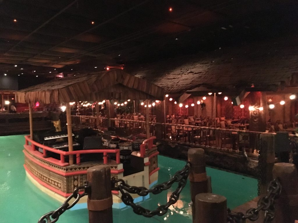 Where the band plays at The Tonga Room