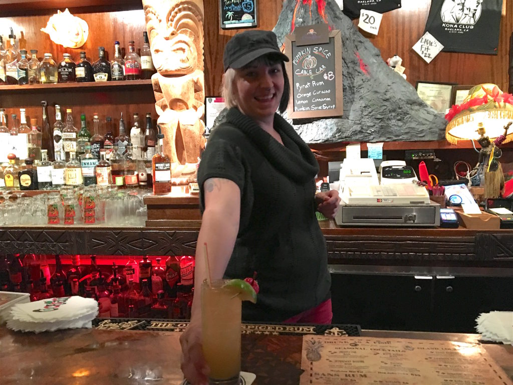 Lexi- Bartender at The Kona Club