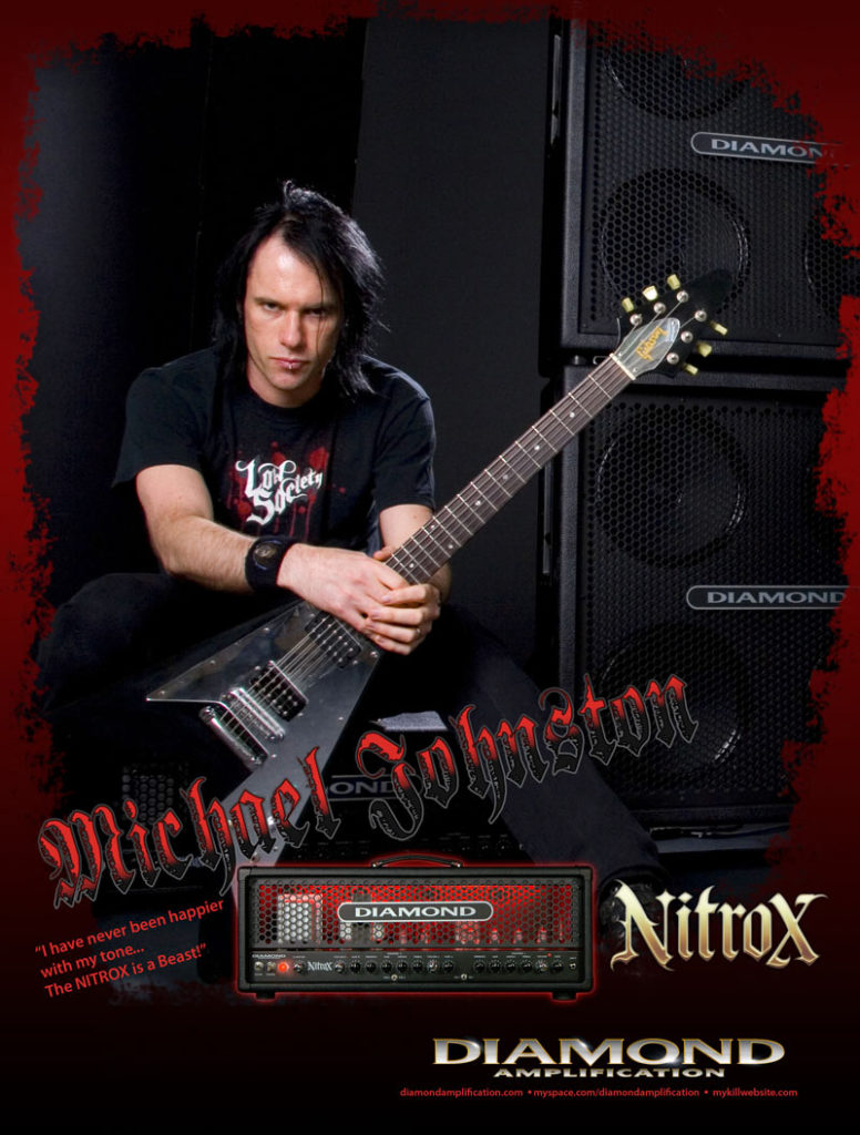 Mike endorsed by Diamond Amps 2009