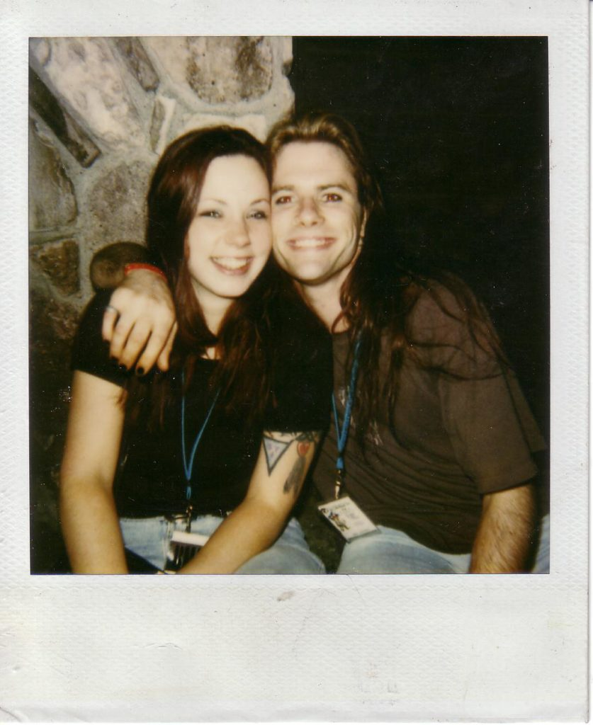 Josie and Mike at the Viper Room 1997