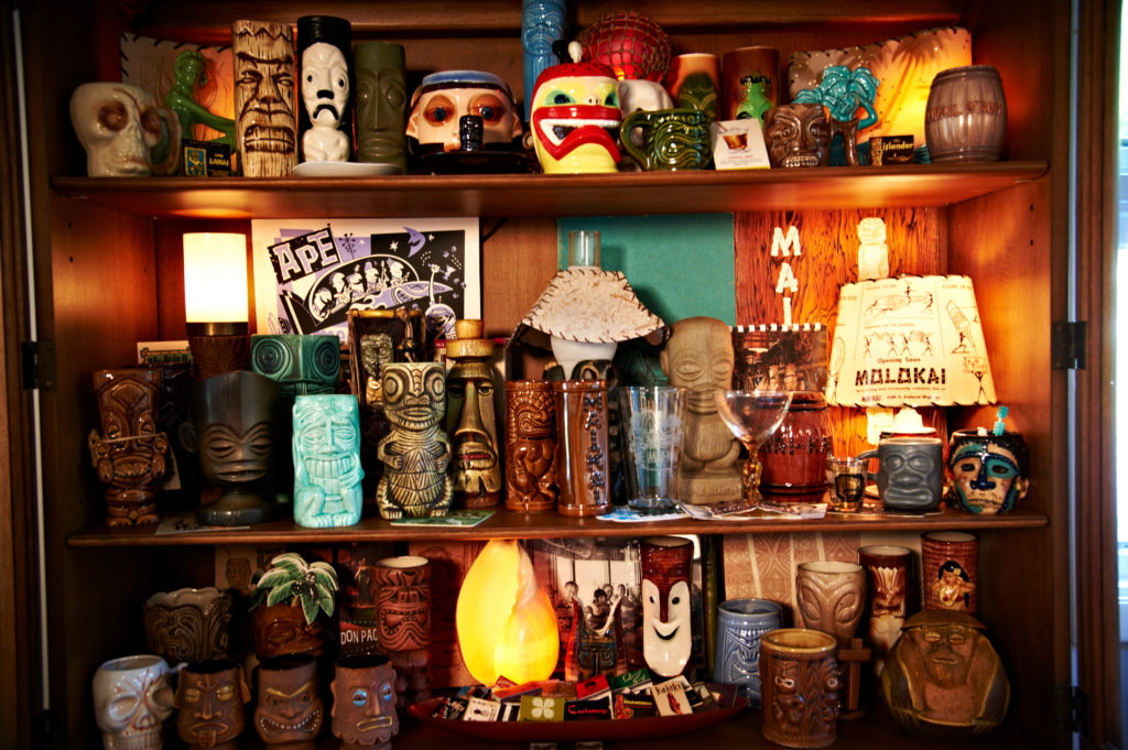 Photo by Edward Badham Portion of my Tiki mug collection