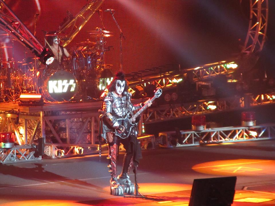 Kiss live at Rogers Arena Vancouver BC photo by Brian Verch