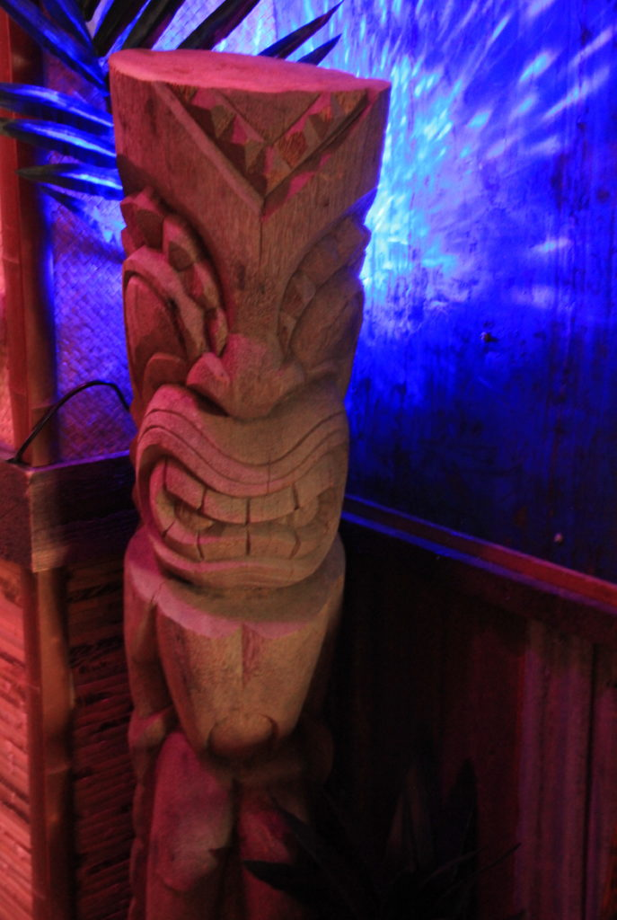 Tiki at No Bones Beach Club Portland