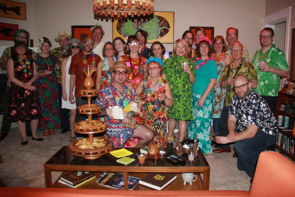 Janu-waii Luau 2017 Group Photo