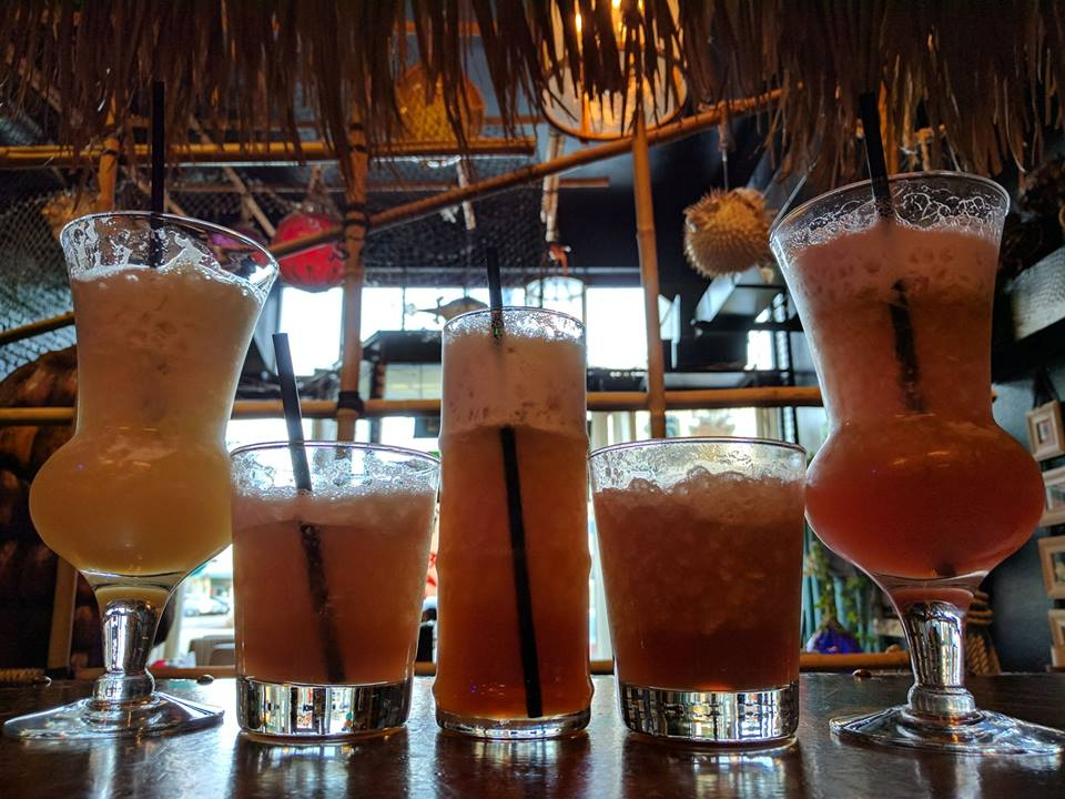 Straight Edge Tiki drinks at Tacoma Cabana