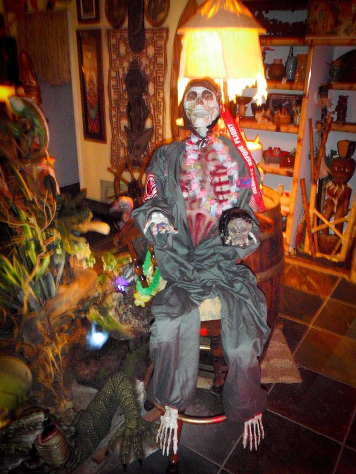 The Headhunter's Hideaway and Voodoo Lounge