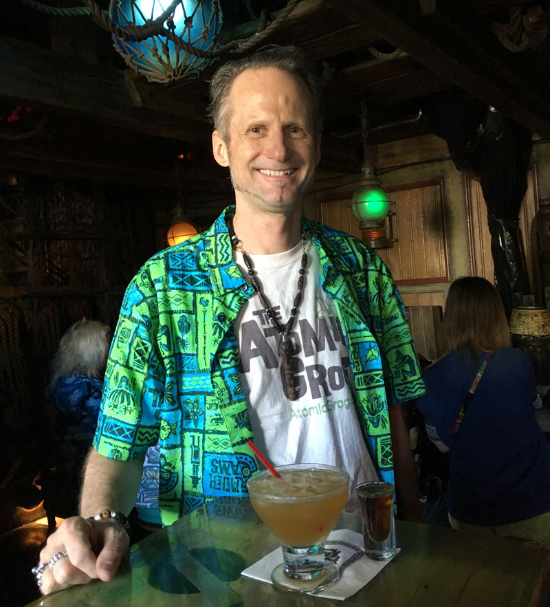 "Jim ""Hurricane"" Hayward at the Mai-Kai"