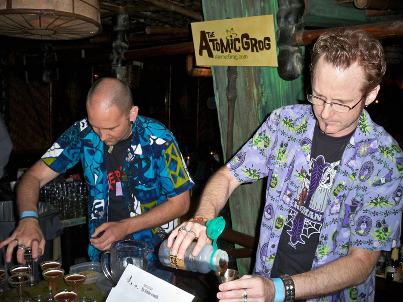 Hurricane mixing at The Mai-Kai